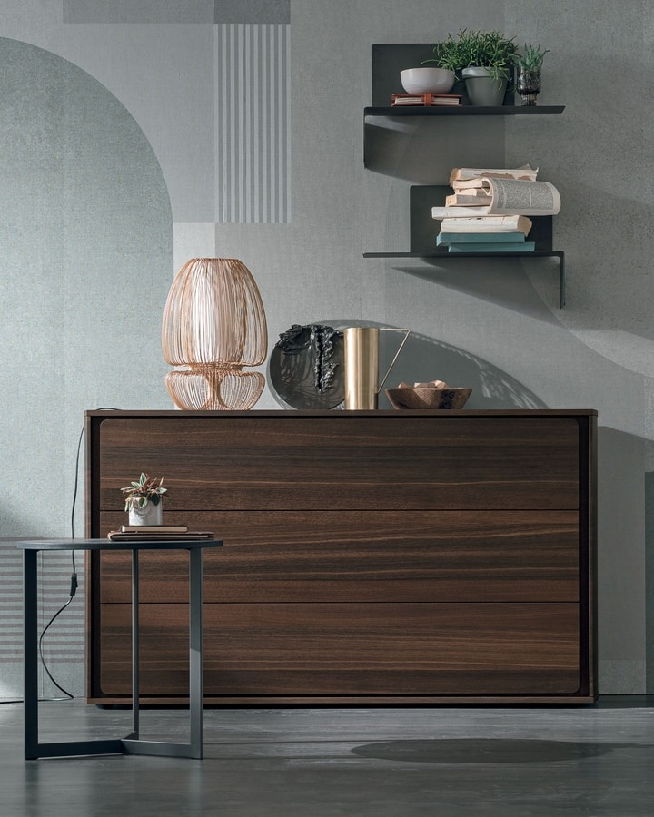 Tivoli, Chest of drawers with rounded sides