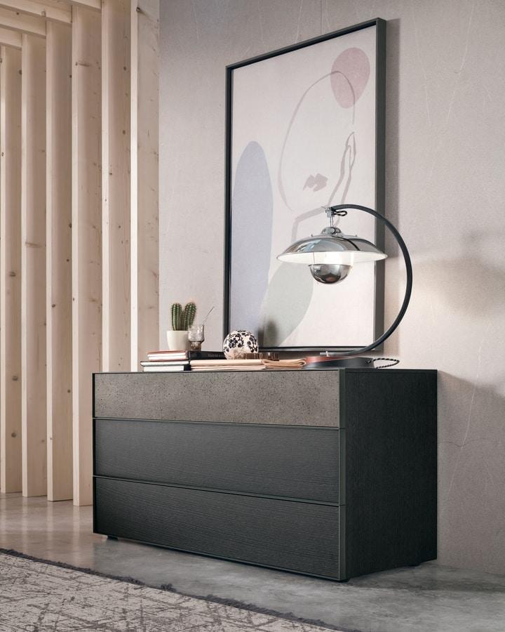 Vinci, Dresser with a refined design