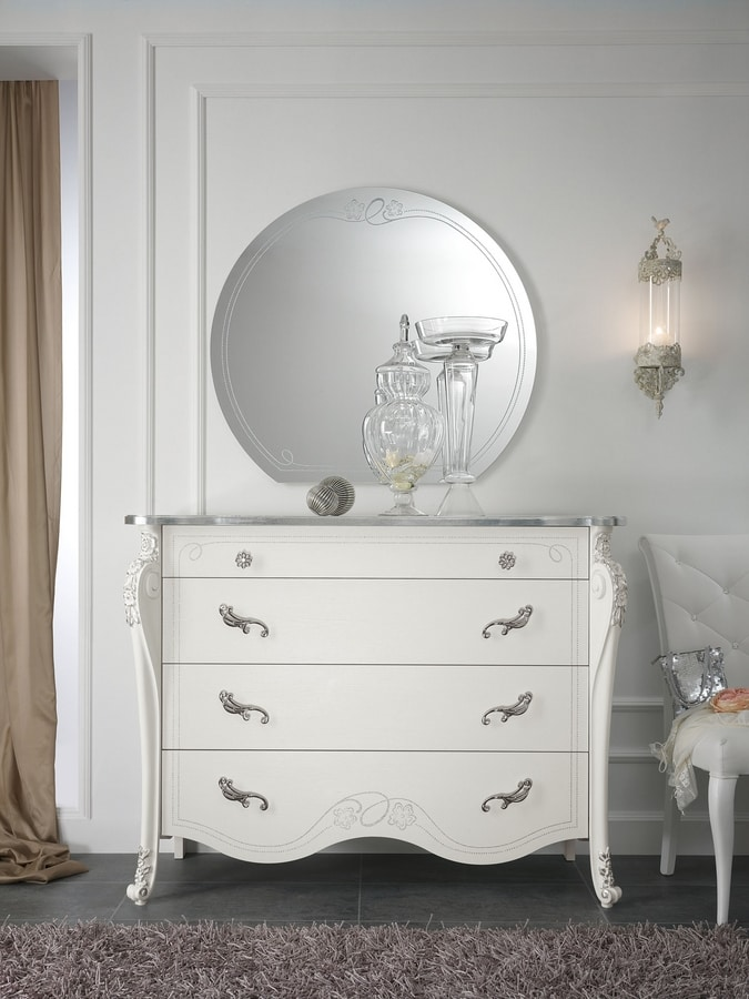 Viola chest of drawers, Classic contemporary style chest of drawers