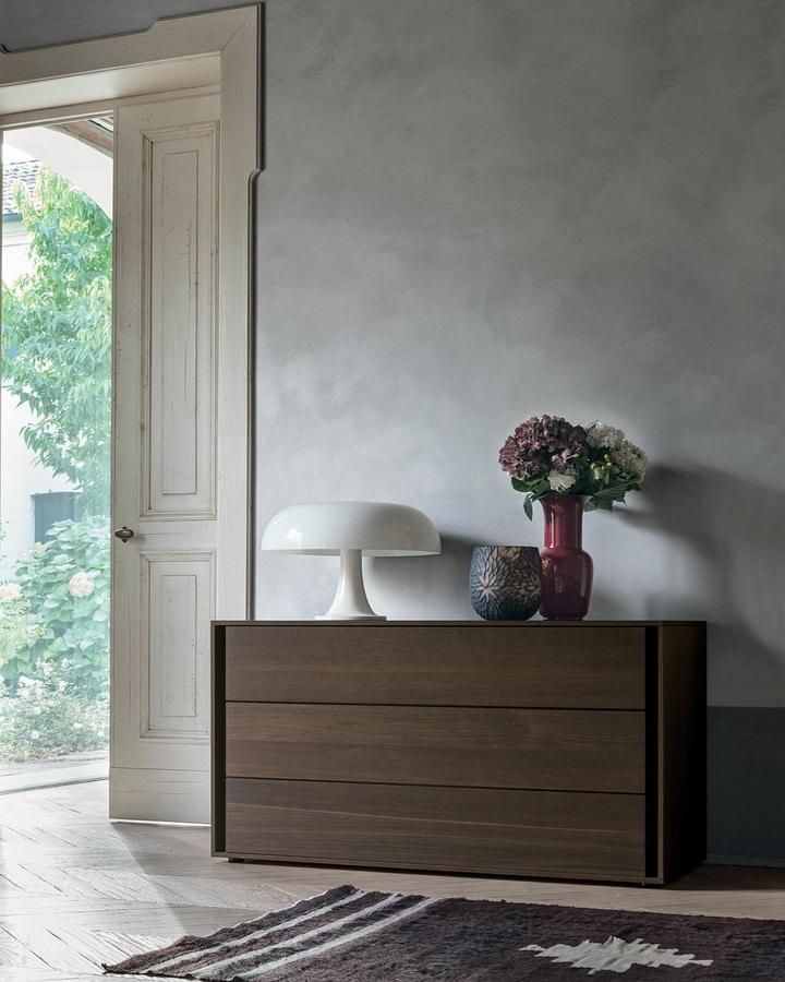 Vip, Bedroom storage furniture with sober lines