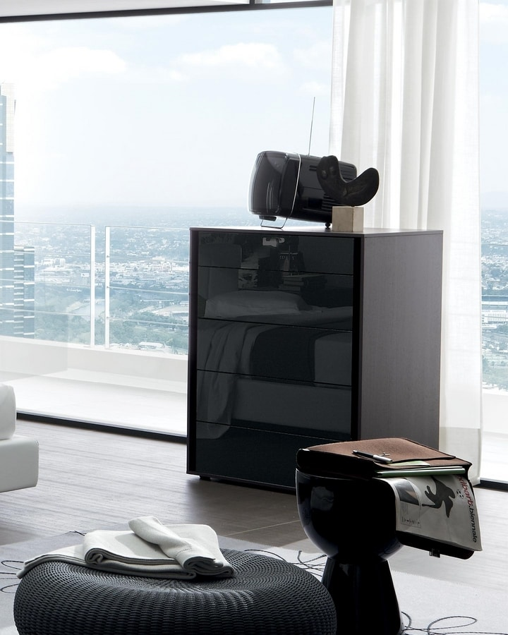 Vip cristal, Bedroom furniture with glass fronts