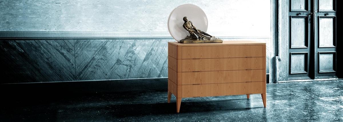 Vittorio 1268, Dresser with minimal design