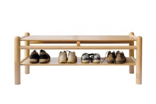 940/P1, Bench in beech, available in color, for play areas