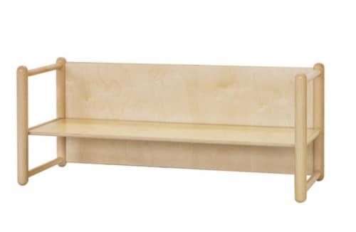 DIXI/P, Bench in beech, in various heights