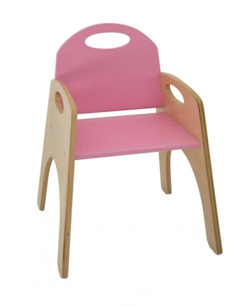 FANTALANDIA, Chair with armrests for children, stackable, for play areas and children's room