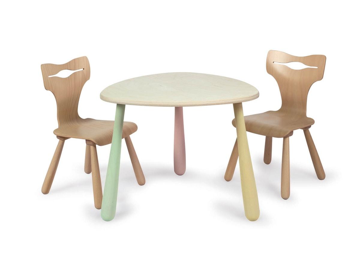 JOKER, Wooden chair for children