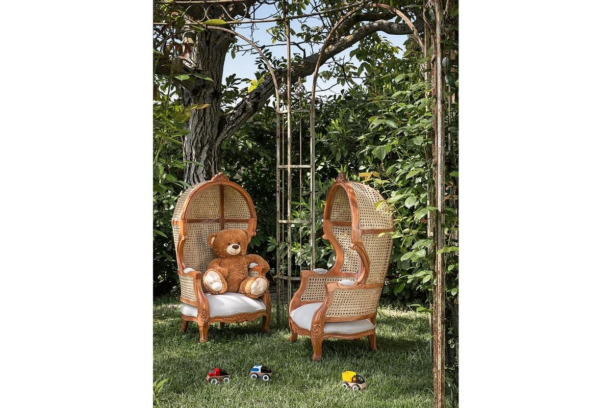 Junior Porter 0608, Children's armchair, with high backrest
