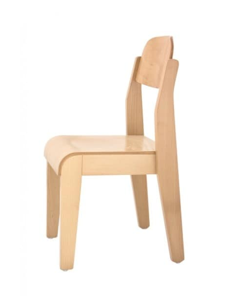 LEA, Chair in beech, for schools and children rooms