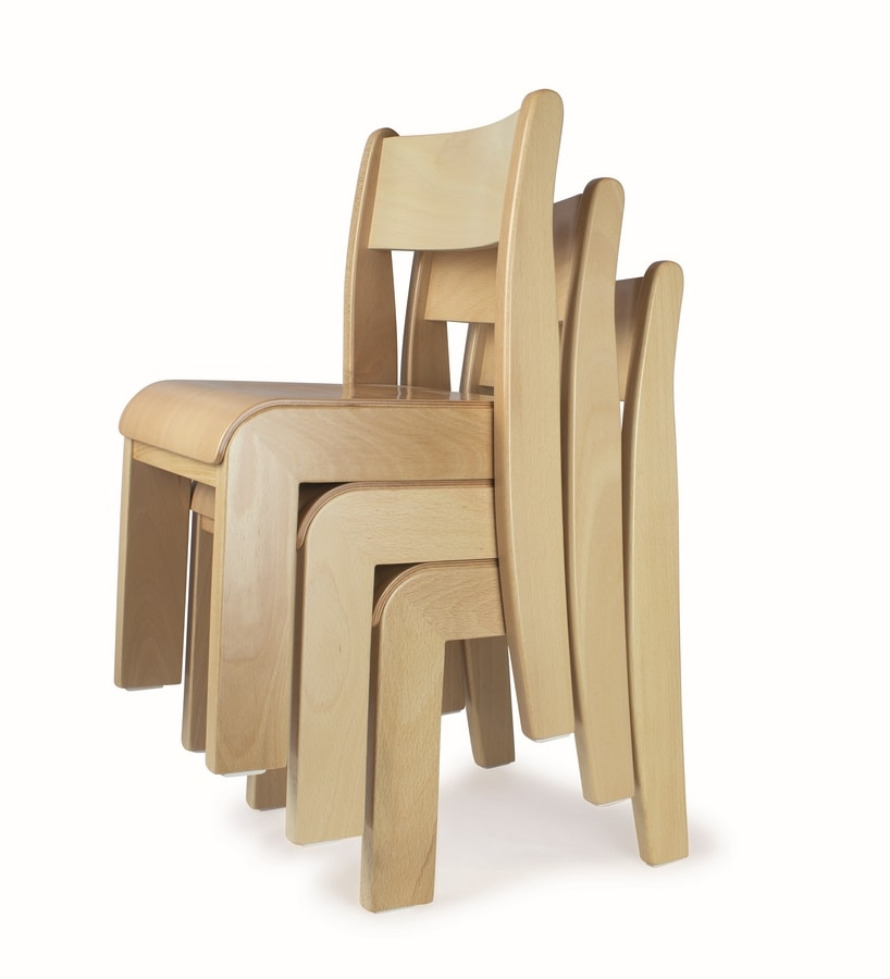 Stackable Chair For Kids Easy To Wash Idfdesign
