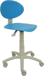 Punto, Colorful children's chair with castors