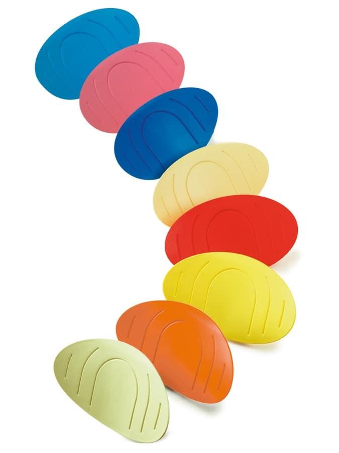 Punto, Colorful children's chair with castors