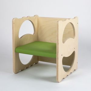 VANITY/I, Multipurpose chair, in wood, stackable