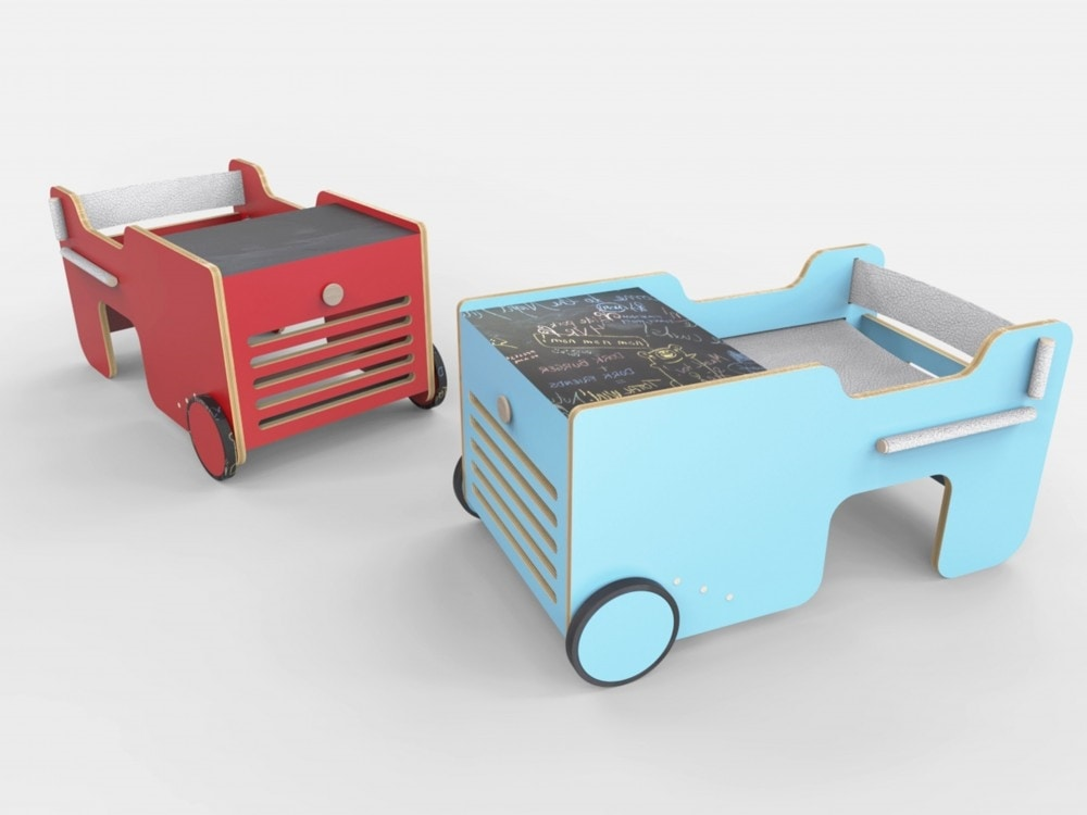 Brumm, Children's table in the shape of a car