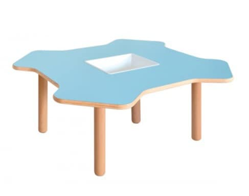 ELICA, Wooden table for children, in form of helix