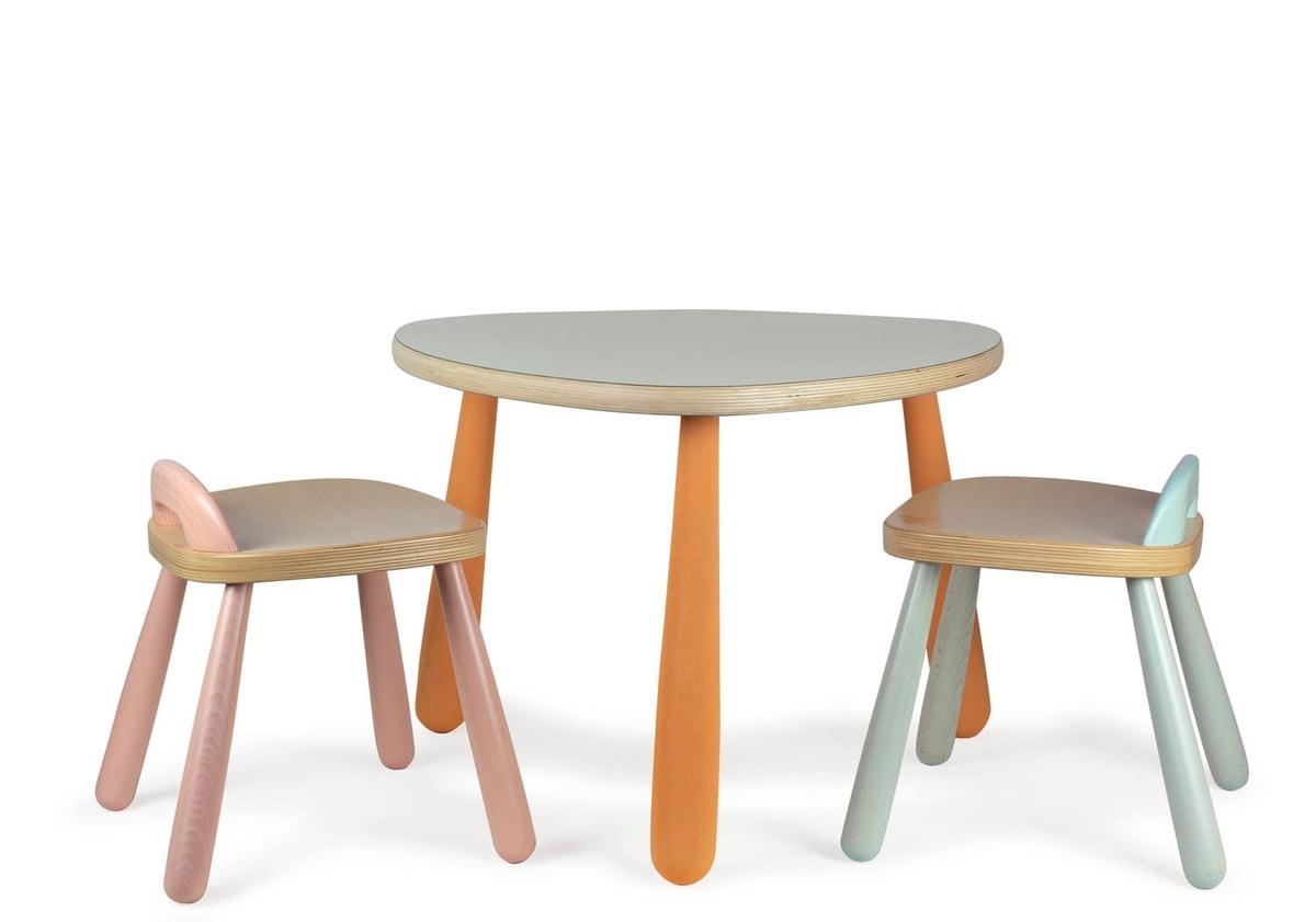 JOKER/T, Wooden table for children