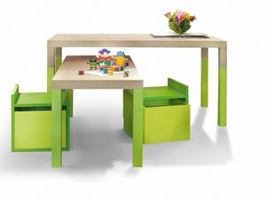 Tavolo, Table for children with variable height