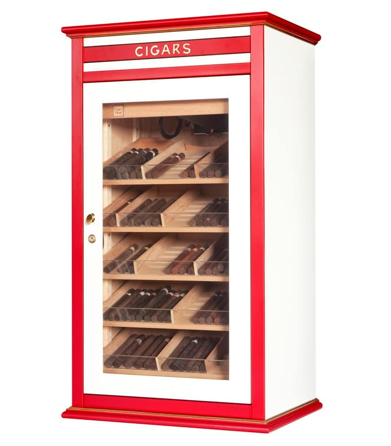 82404 Madison Clima, Controlled cigar cabinet, suitable for Tobacco shop
