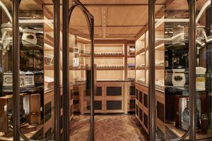 Walk-in, Air-conditioned room for storing cigars