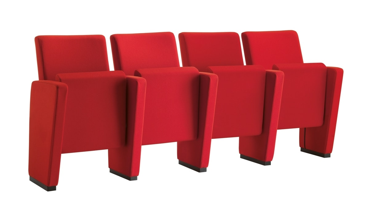 Auditorium, Docking armchairs for theaters and auditoriums