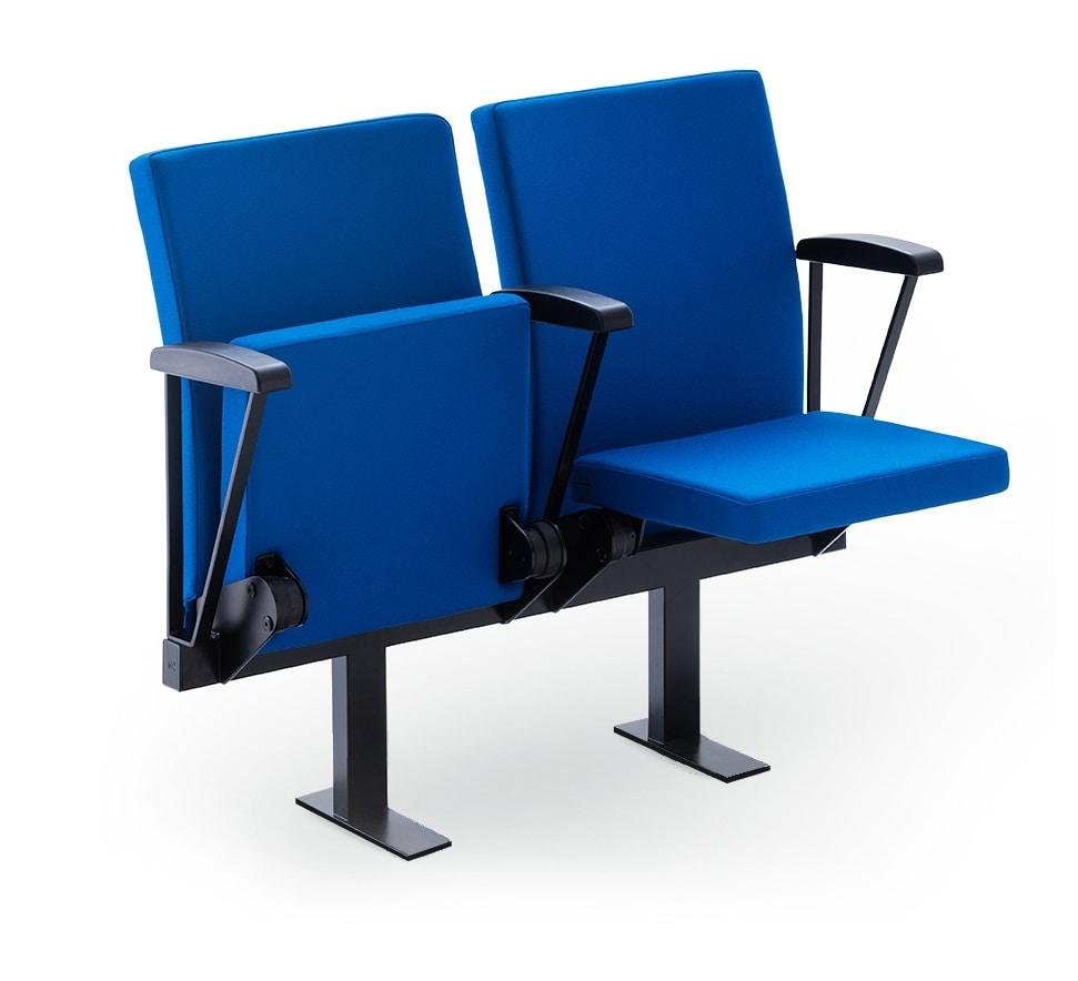 Aura ZN, Armchair with folding seat