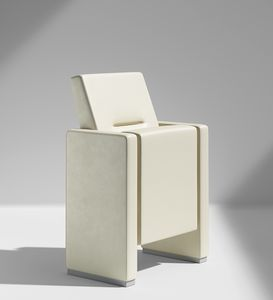 CHRONO, Theater armchair with a refined minimalist style