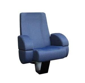 Comfort France, Fireproof armchairs in modern style, for cinemas rooms
