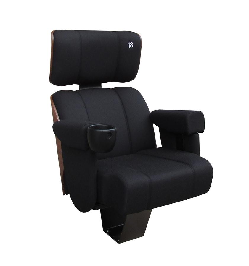 Eliseo EV, Comfortable cinema chair
