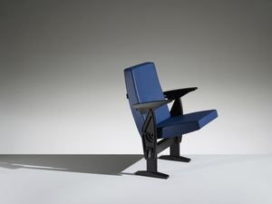 FUTURA, Armchair with concealed system for rooms and auditoriums