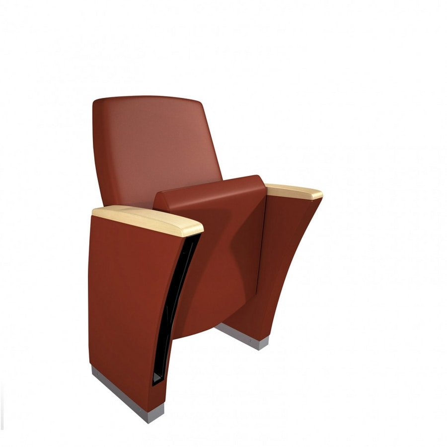 GENESIS EVOLUTION, Theater armchairs with extreme comfort