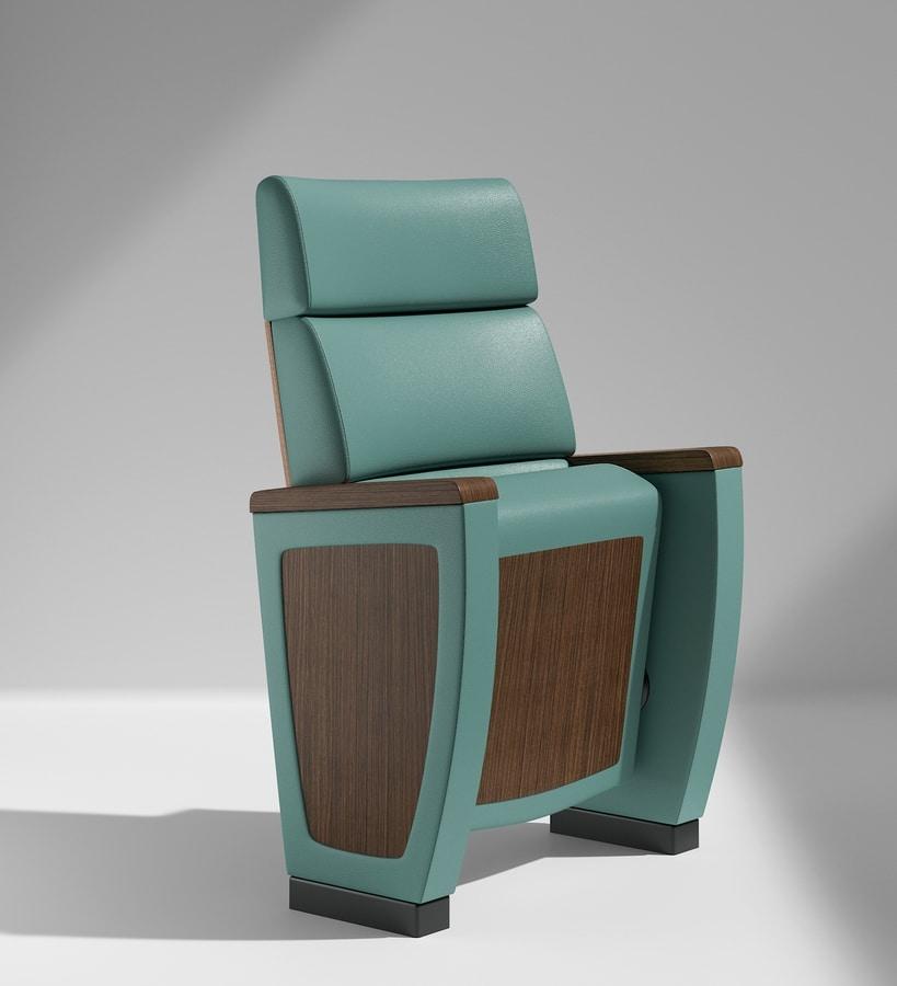 IMPERIAL, Comfortable armchair for auditorium