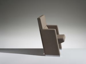 L213, Armchair for cinema and theater with folding seat