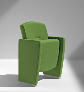 METROPOLITAN, Versatile seating for conference rooms and theaters