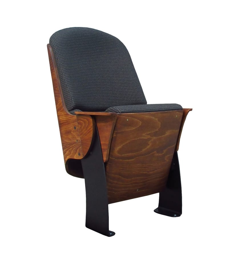 Milano, Armchair with folding seat, for cinema and auditorium