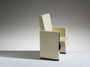 MURA, Cinema armchair with reclining seat and back
