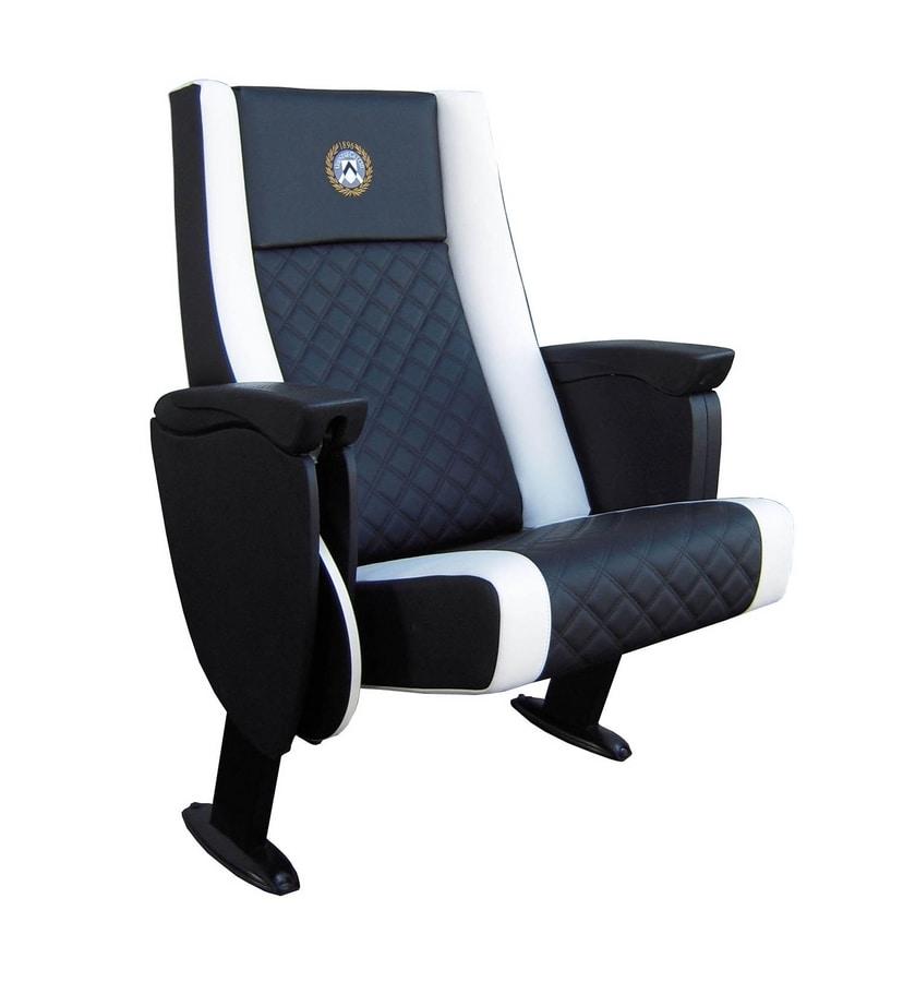 Prestige President, VIP armchair with folding seat