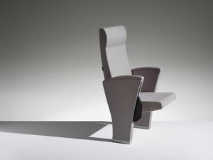UNICA, Armchair with amortized overturn for auditoriums