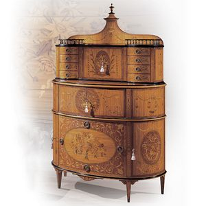 5765, Inlaid cabinet in citronnier and briar