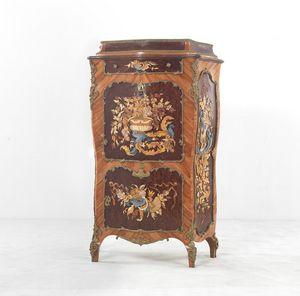 8017, Cabinet in boise de rose briar