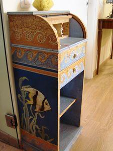 Art. 103, Cabinet with cravat decor