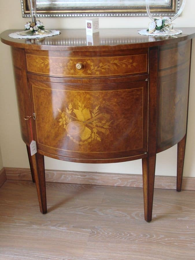 Art. 35, Classic furniture for the entrance, in briar, for Home