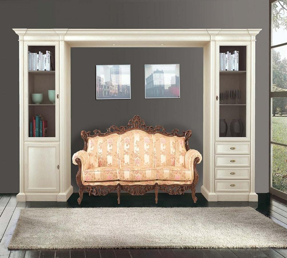 Art. 3604, Classic style bridge cabinet