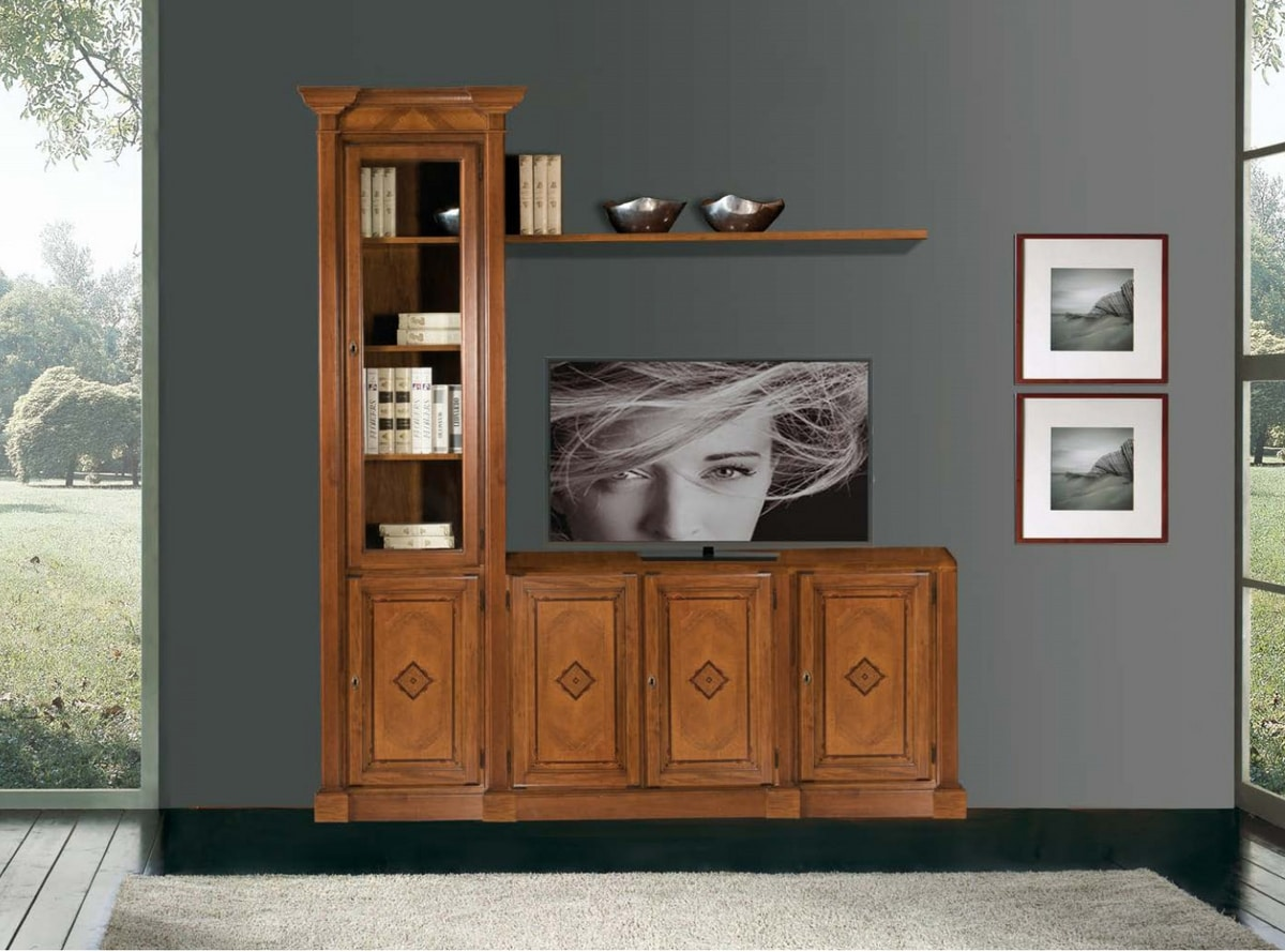 Art. 3606, Cabinet in walnut wood