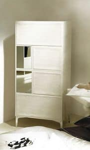 With 3 sliding doors and semi gloss finish suited for bedrooms