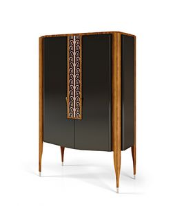 LEXINGTON AVENUE Mobile Bar, Wooden bar cabinet in wood
