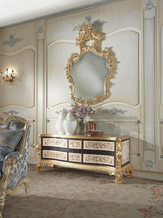 Nobile-D cabinet, Classic cabinet in black ebony