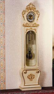 Art. 1068, Lacquered pendulum clock, Baroque style