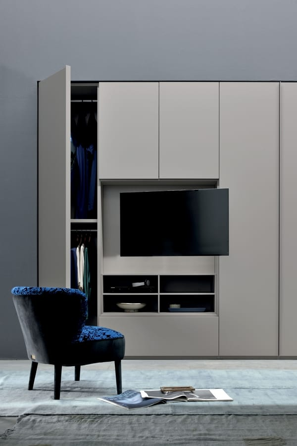 Wardrobe For Bedroom With Tv Stand