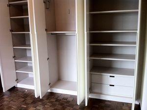 Art. A06, White lacquered wardrobe