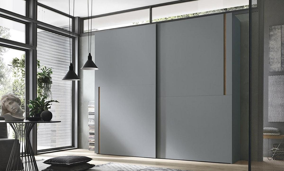 Denver, Wardrobe with vertical handle