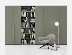 FILO, Wardrobe with bookcase